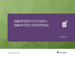 Smarter Kitchen Smarter Shopping Whitepaper