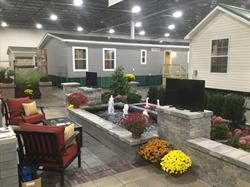 Manufactured homes on display at The Novi Home Show, at Suburban Collection Showplace, Novi.
