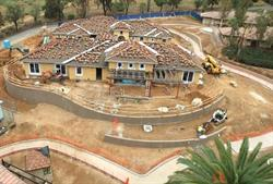 Construction underway at California's first memory care homes.