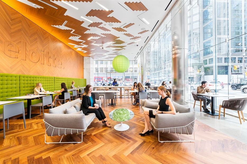 Deloitte Canada S New National Office Redefines Quot Work Quot For