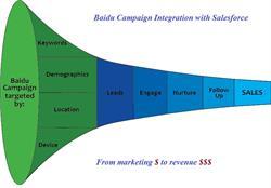 Salesforce Baidu Integration Flow