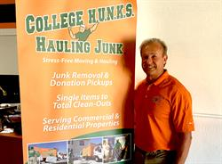 College Hunks Hauling Junk and Moving franchisee Rob Rudow