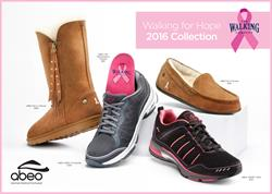 The Walking Company Pink Ribbon Collection