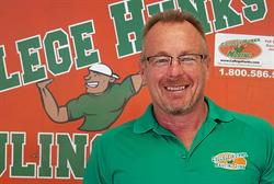 College Hunks Hauling Junk franchisee Mike Slater
