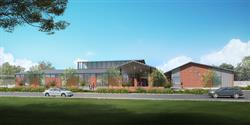 Conceptual Renderings for New Good Shepherd Campus