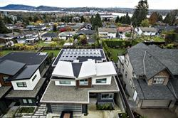 Solar Alliance Energy and Westpeak Developments have partnered to market solar systems in Vancouver, including this solar system installed in North Vancouver in October, 2016. PHOTO/Solar Alliance Energy