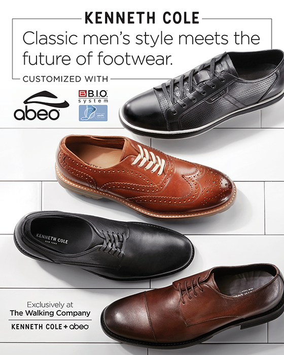 Abeo Biomechanical Footwear And Kenneth Cole Partner To