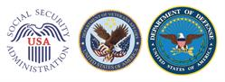 SSA, VA, and DOD logos