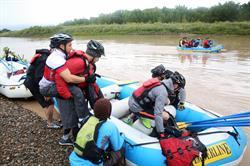 Rafting at Adventure Team Challenge Colorado