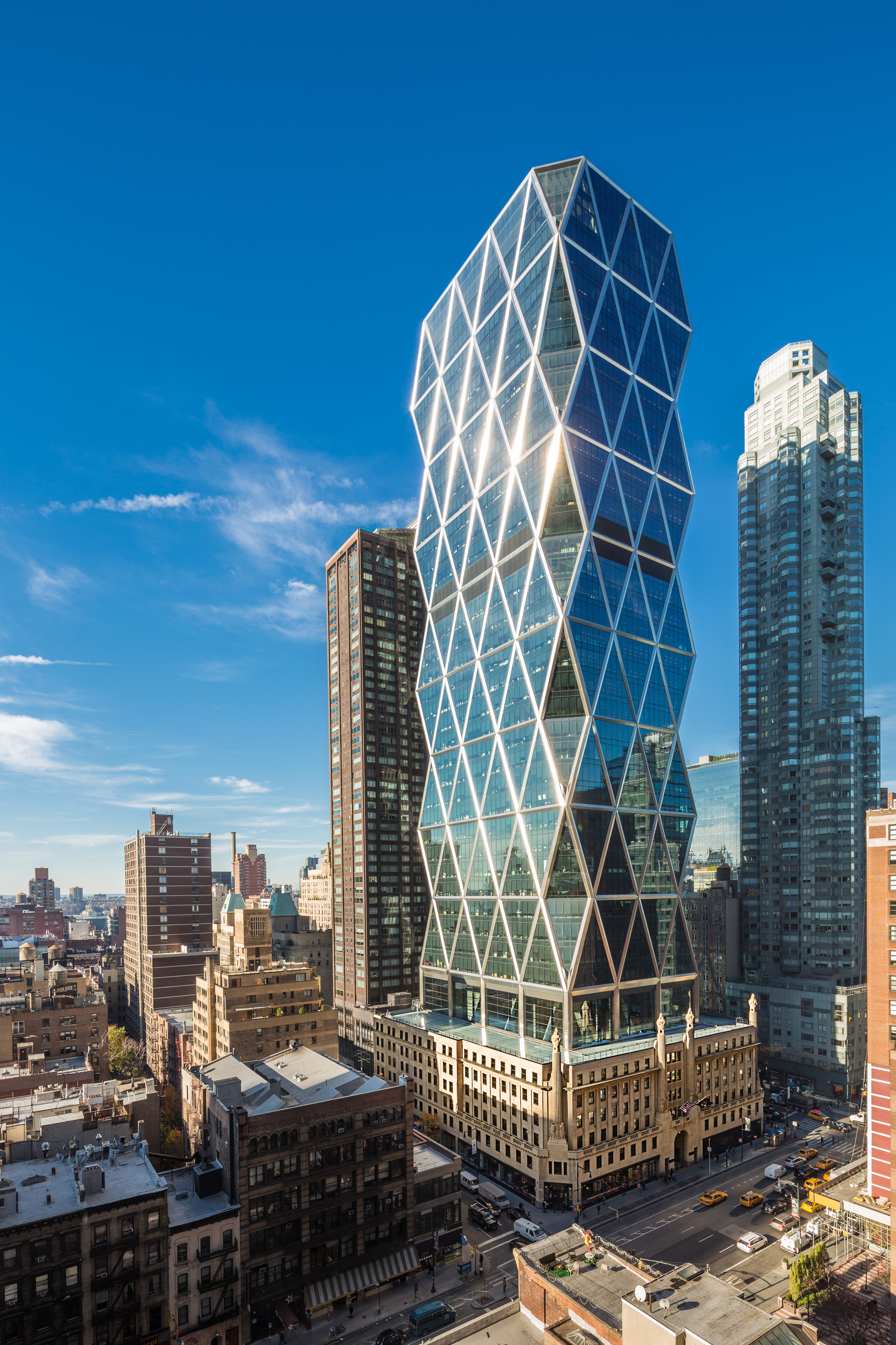 Hearst Marks 10th Anniversary Of Hearst Tower Opening With