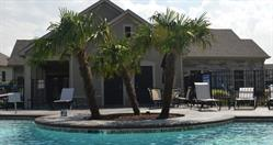 Epcon community franchise - clubhouse pool with palm trees