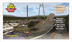 New Roller Coaster for Fun Spot America 2017