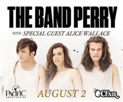 The Band Perry / Alice Wallace Live at the OC Fair in the Pacific Amphitheatre - August 2, 2017