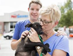 Each year, PetSmart Charities of Canada helps over 20,000 pets find forever homes. This month's National Adoption Weekend runs from Nov. 11-13 in PetSmart stores across Canada. Credit: Sarah McGraw.