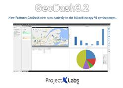 Location Intelligence - GeoDash 3.2 works natively in MicroStrategy VI