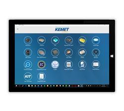 KEMET stellt auf seiner Mobile App ein erweitertes digitales Toolset bereit, um die Integration in das Design zu erleichtern.