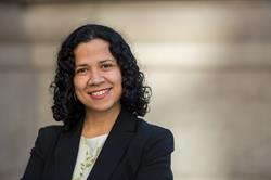 Gloria Chacon, a legal fellow at Robin Hood-incubated Immigrant Justice Corps, which provides legal aid to immigrants facing deportation. Gloria was named a 2016 Robin Hood Hero.