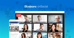 BlueJeans onSocial