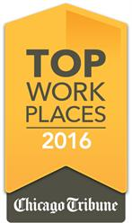 For the Fourth Year, Flexera Software Named a Chicago Tribune 2016 Top 100 Workplace