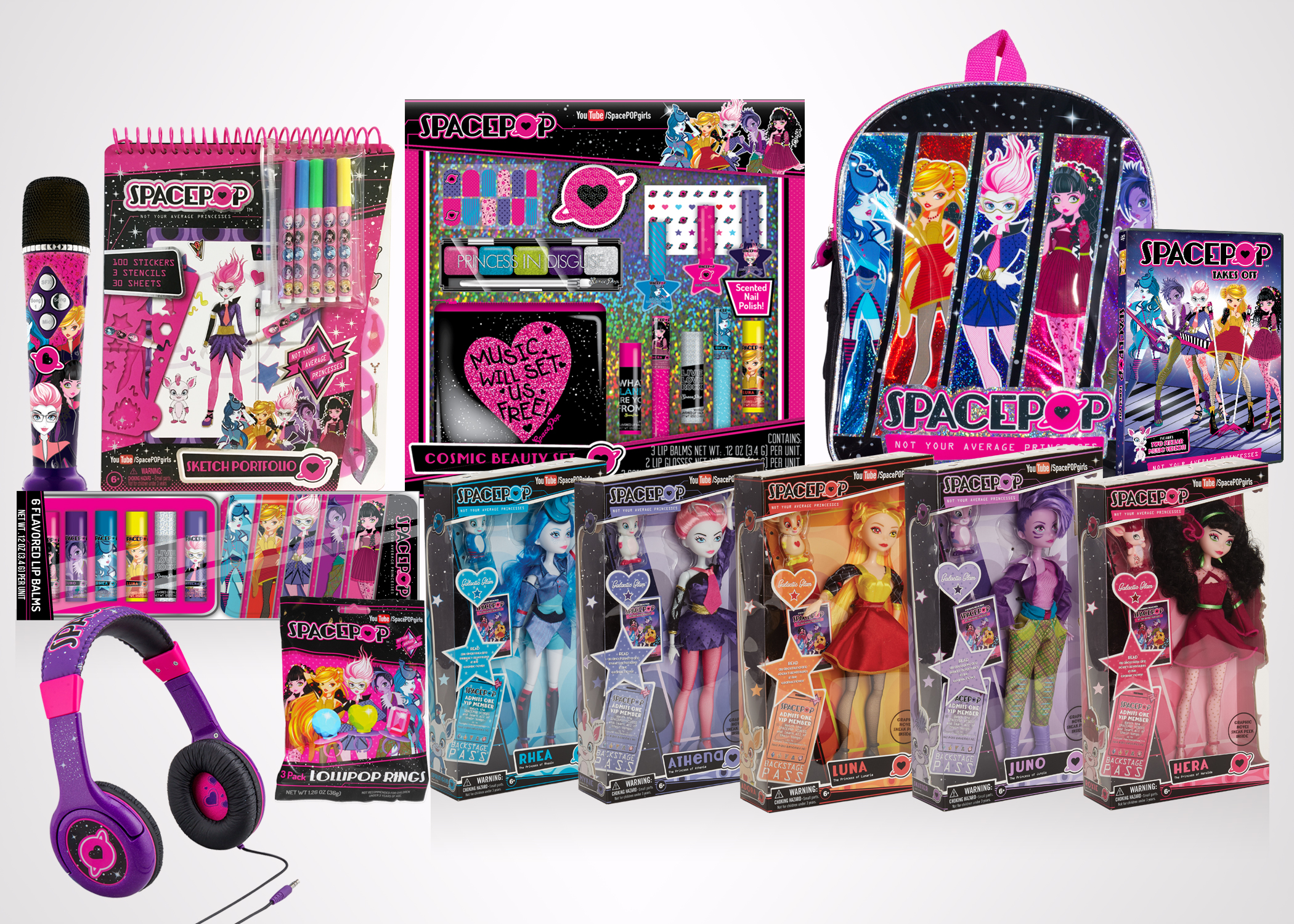 genius brands international inc nasdaq gnus gears up for the holiday season with a mass retail launch of its new music driven tween brand spacepop