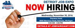 Detroit Job Expo - November 30, 2016