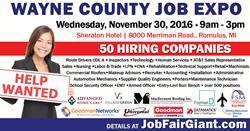 Michigan Job Fair - November 30, 2016