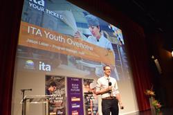 Jason Leber, ITA Youth Program Manager, hosts ITA's Youth Day 2016.