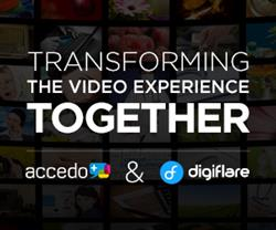 Industry Leaders Accedo And Digiflare Merge To Create A Transformational Video Experience Powerhouse