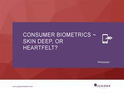 Consumer Biometrics Whitepaper Cover
