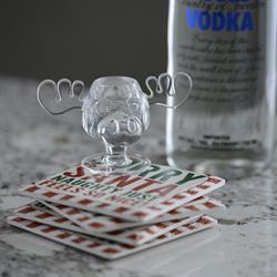 Christmas Vacation Moose Mug Shot Glass