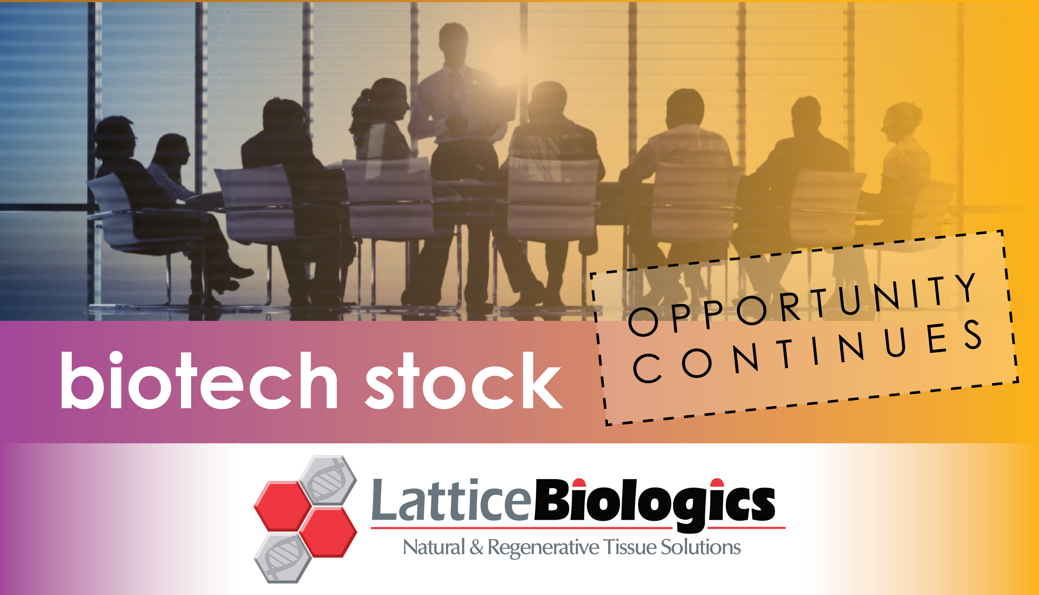 biotech stock opportunity continues with Lattice Biologics