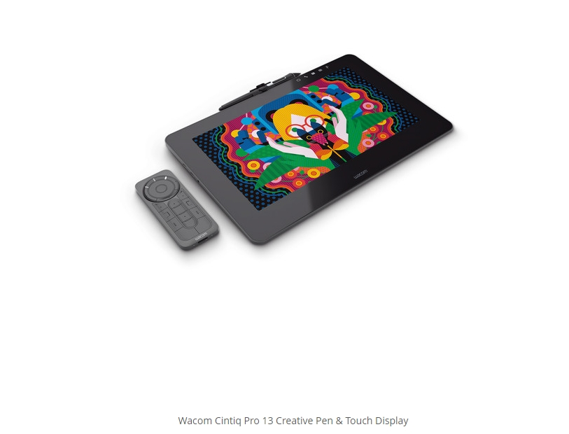 Wacom Cintiq Pro 13 Creative Pen & Touch Display