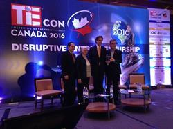 Alvaro Pombo, CEO of ProntoForms, received City of Ottawa's 2016 Immigrant Entrepreneur Award.