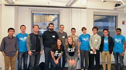 ITA staff pose with the 2016 Tech Challenge winners