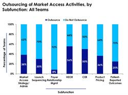 How Teams Allocate the Outsourcing of Market Access Activities