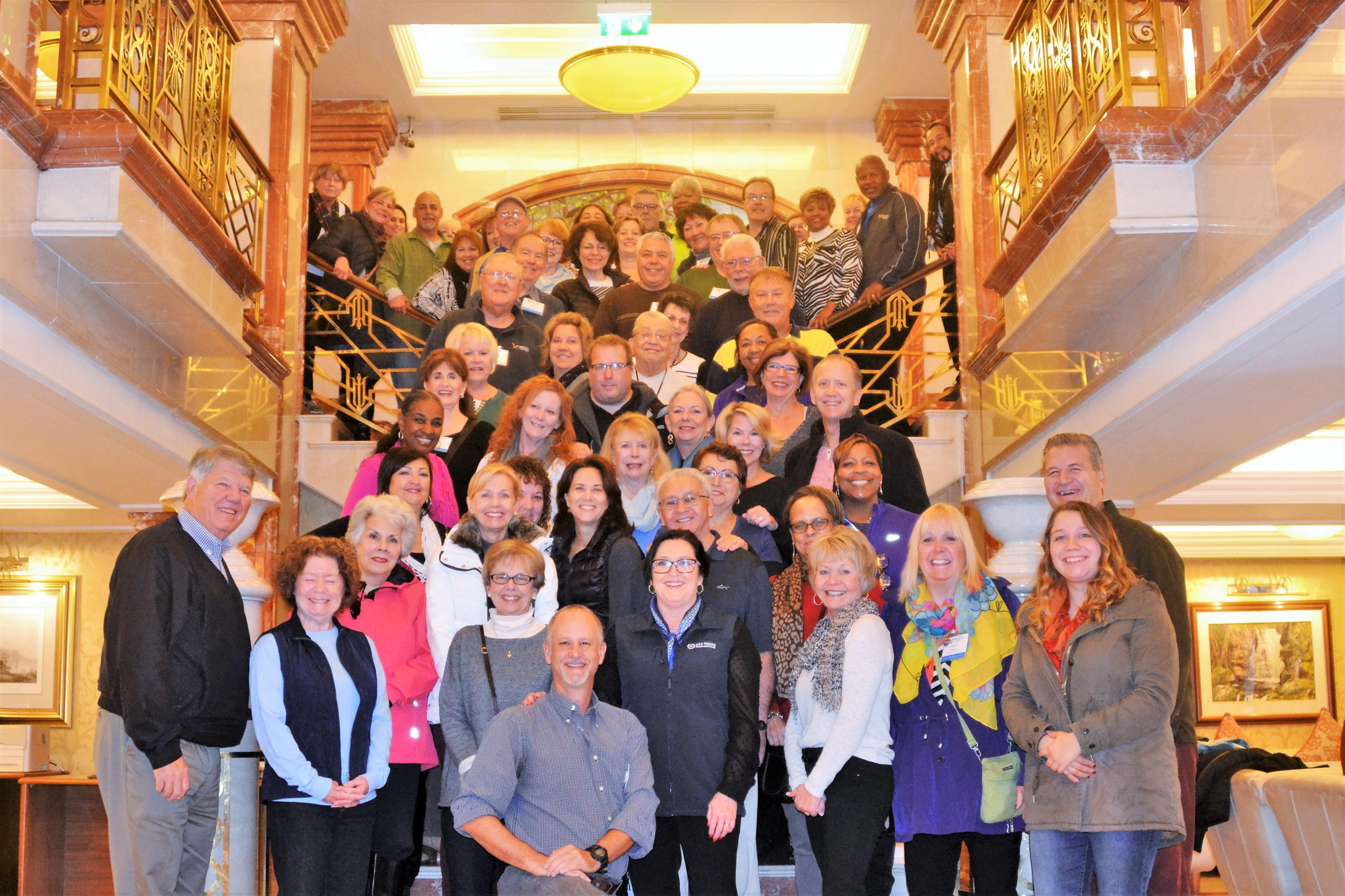 Top Avoya Travel Network Members on CIE Tours Award Trip in Ireland