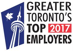 PowerStream has been named one of 'Greater Toronto's Top Employers' for the sixth consecutive year in 2017.