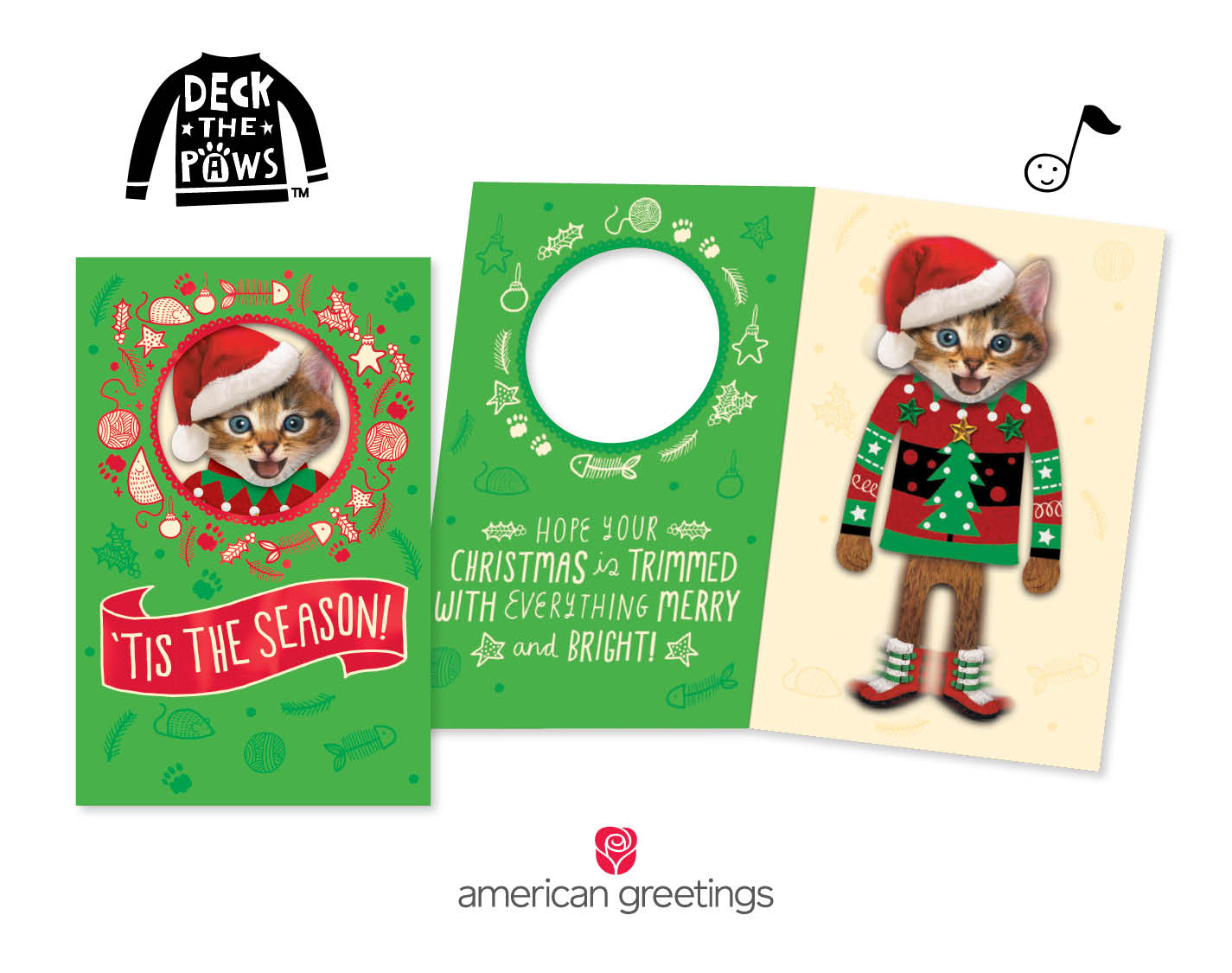 Make Christmas Extra Fun With New Deck The Pawstm Cards From