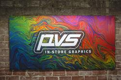 PVS In-Store Graphics became the first company in the Pacific Northwest to commission the EFI VUTEk FabriVU 340, one of the most advanced dye-sublimation fabric printing systems on the market. It began production at the company's Portland, Oregon studio last month.