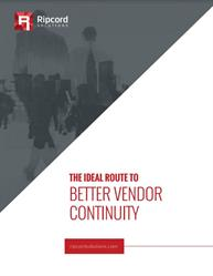 The Ideal Route to Better Vendor Continuity