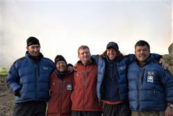 Team members on Kilimanjaro