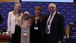 Bronwyn King from Tobacco Free Portfolios in Australia; Zarihah Zain from Lincoln University College Malaysia; Carolyn Dresler, President of the Human Rights and Tobacco Control Network; and Luke Clancy from TobaccoFree Research Institute in Ireland gathered today at the IASLC 17th WCLC press briefing to discuss strategies in control of tobacco and the fight against lung cancer.