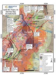 Oro Belle North Plan Map