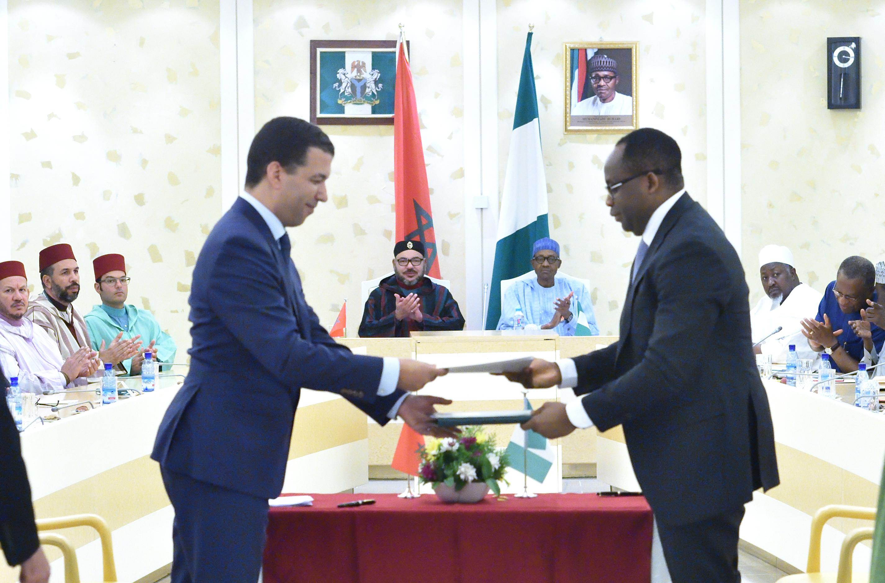 Nigeria-Morocco Pipeline Agreement