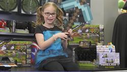 GameStop fan Sevyn Tennison has Minecraft on her wish list.
