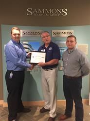 Sammons Financial Group employee receives Department of Defense Patriot Award