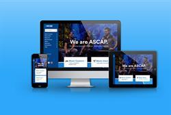 ASCAP.com redesign