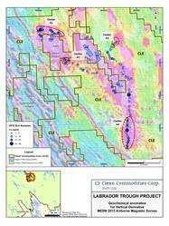 CLE Labrador Trough Sampling Program Results - 2016 - Cobalt