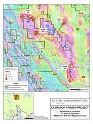 CLE Labrador Trough Sampling Program Results - 2016 - Copper