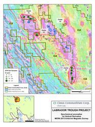 CLE Labrador Trough Sampling Program Results - 2016 - Nickel